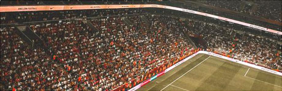 Werbebanden Stadion